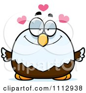 Clipart Bald Eagle In Love Royalty Free Vector Illustration