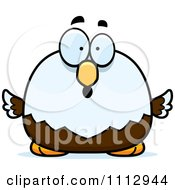 Clipart Surprised Bald Eagle Royalty Free Vector Illustration