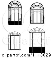 Black And White Windows And Doors