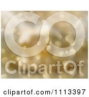 Clipart Gold Sparkling Bokeh Christmas Lights Background Royalty Free CGI Illustration