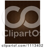 Clipart Textured Brown Leather Background Royalty Free CGI Illustration