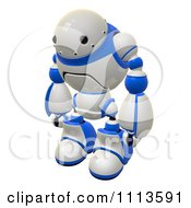 3d Rogi Robot Facing Left