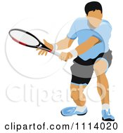 Clipart Male Tennis Player 1 Royalty Free Vector Illustration