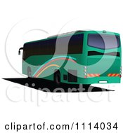 Clipart City Bus Royalty Free Vector Illustration by leonid
