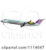 Commercial Jumbo Jet Airliner Passenger Plane 11