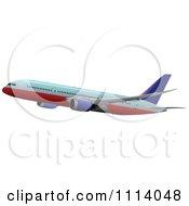 Commercial Jumbo Jet Airliner Passenger Plane 10