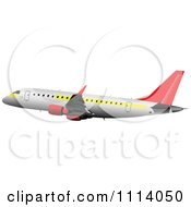Commercial Jumbo Jet Airliner Passenger Plane 2
