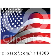 Clipart American Stars And Stripes Flag Background 1 Royalty Free Vector Illustration by leonid