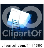 Clipart 3d Ladder Leading To Bright Light Royalty Free CGI Illustration by Mopic