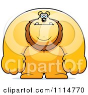 Clipart Buff Lion Royalty Free Vector Illustration
