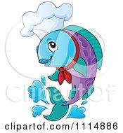 Jumping Chef Fish