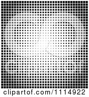 Clipart Black And White Tile Texture Background 1 Royalty Free Vector Illustration