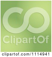 Clipart Green Dot Grain Background 2 Royalty Free Vector Illustration by dero