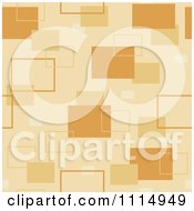 Clipart Seamless Tan Rectangle Background Pattern Royalty Free Vector Illustration