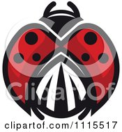 Clipart Spotted Ladybug Beetle 6 Royalty Free Vector Illustration by Vector Tradition SM