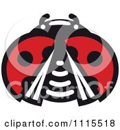 Clipart Spotted Ladybug Beetle 7 Royalty Free Vector Illustration by Vector Tradition SM