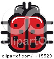Clipart Spotted Ladybug Beetle 3 Royalty Free Vector Illustration by Vector Tradition SM