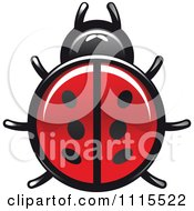 Clipart Spotted Ladybug Beetle 1 Royalty Free Vector Illustration by Vector Tradition SM