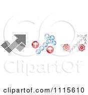 Clipart Arrow Percent Design Elements Royalty Free Vector Illustration by Andrei Marincas