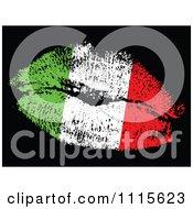 Italian Flag Kiss
