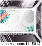 Clipart Film Frame Background With Light 4 Royalty Free Vector Illustration by merlinul