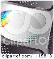 Clipart Film Frame Background With Light 3 Royalty Free Vector Illustration