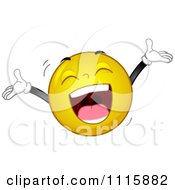 Clipart Smiley Laughing Out Loud Royalty Free Vector Illustration