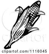 Clipart Retro Vintage Black And White Royalty Free Vector Illustration