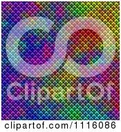 Clipart Colorful Mesh Kaleidoscope Background 2 Royalty Free CGI Illustration