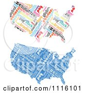 Clipart Commerce Word Collage American Maps Royalty Free Vector Illustration by Andrei Marincas