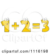 Happy Numbers One Plus Two Equals Three