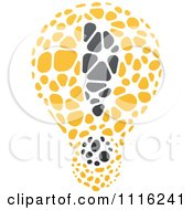 Clipart Exclamation Point Light Bulb 1 Royalty Free Vector Illustration