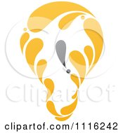 Clipart Exclamation Point Light Bulb 2 Royalty Free Vector Illustration