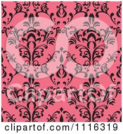 Clipart Seamless Pink And Black Pattern Royalty Free Vector Illustration by Amanda Kate