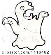 Clipart Halloween Haunt Spook Ghost 15 Royalty Free Vector Illustration