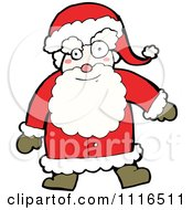 Clipart Christmas Santa Claus 4 Royalty Free Vector Illustration by lineartestpilot