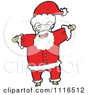 Clipart Christmas Santa Claus 5 Royalty Free Vector Illustration by lineartestpilot