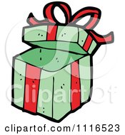 Clipart Christmas Present Gift Box 2 Royalty Free Vector Illustration