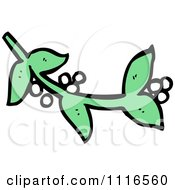 Sprig Of Christmas Mistletoe 3