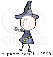 Clipart Halloween Witch Holding Out Her Arms And Puckering Her Lips Royalty Free Vector Illustration by lineartestpilot