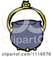 Clipart Halloween Witch Cauldron 1 Royalty Free Vector Illustration