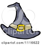 Clipart Pointy Halloween Witch Hat 1 Royalty Free Vector Illustration