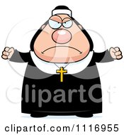 Vector Cartoon Angry Nun In Her Habit Royalty Free Clipart Graphic by Cory Thoman