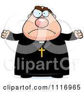 Vector Cartoon Angry Priest Royalty Free Clipart Graphic by Cory Thoman