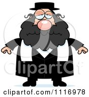 Vector Cartoon Depressed Rabbi Royalty Free Clipart Graphic by Cory Thoman