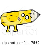 Yellow Pencil Character 18