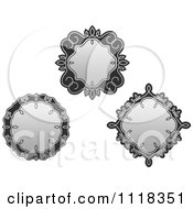 Ornate Grayscale Frames 2