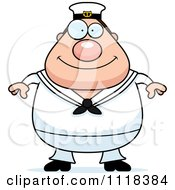 Cartoon Of A Happy Sailor Royalty Free Vector Clipart