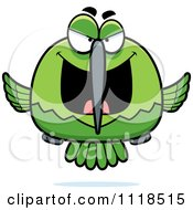Sly Bully Green Hummingbird