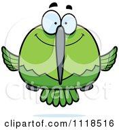 Happy Green Hummingbird